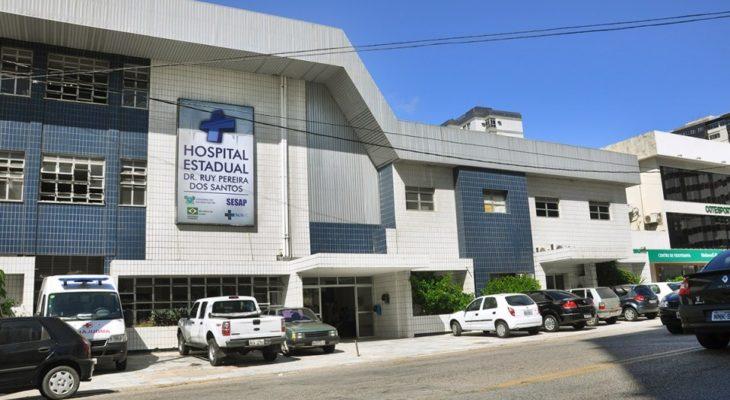 Governo mantém atividades do Hospital Ruy Pereira