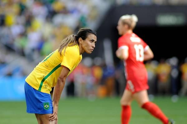 Marta ficará de fora da estreia do Brasil na Copa do Mundo