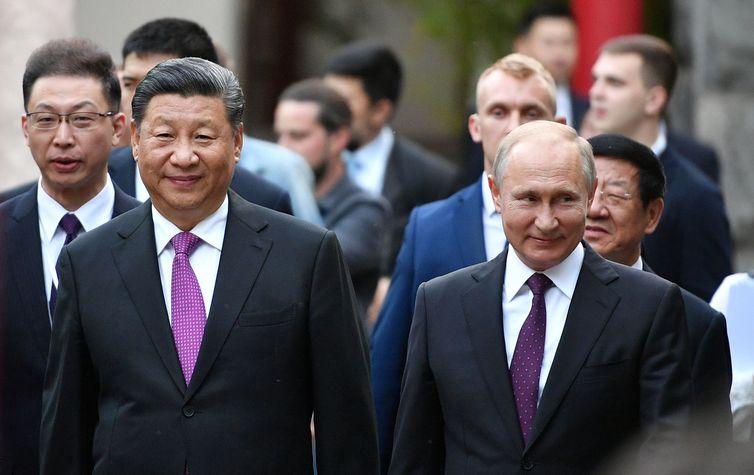 China e Rússia se unem contra guerra comercial dos EUA