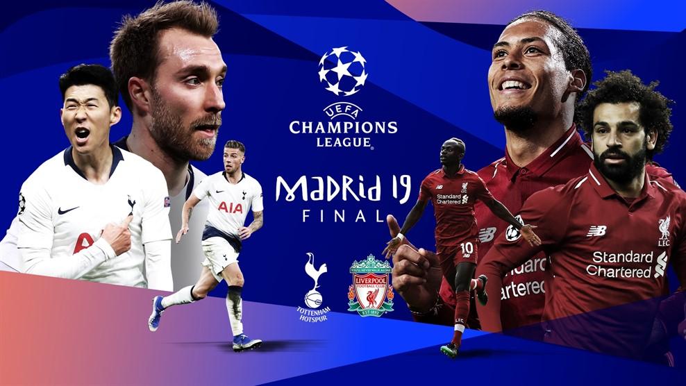 Tottenham e Liverpool disputam título da Liga dos Campeões