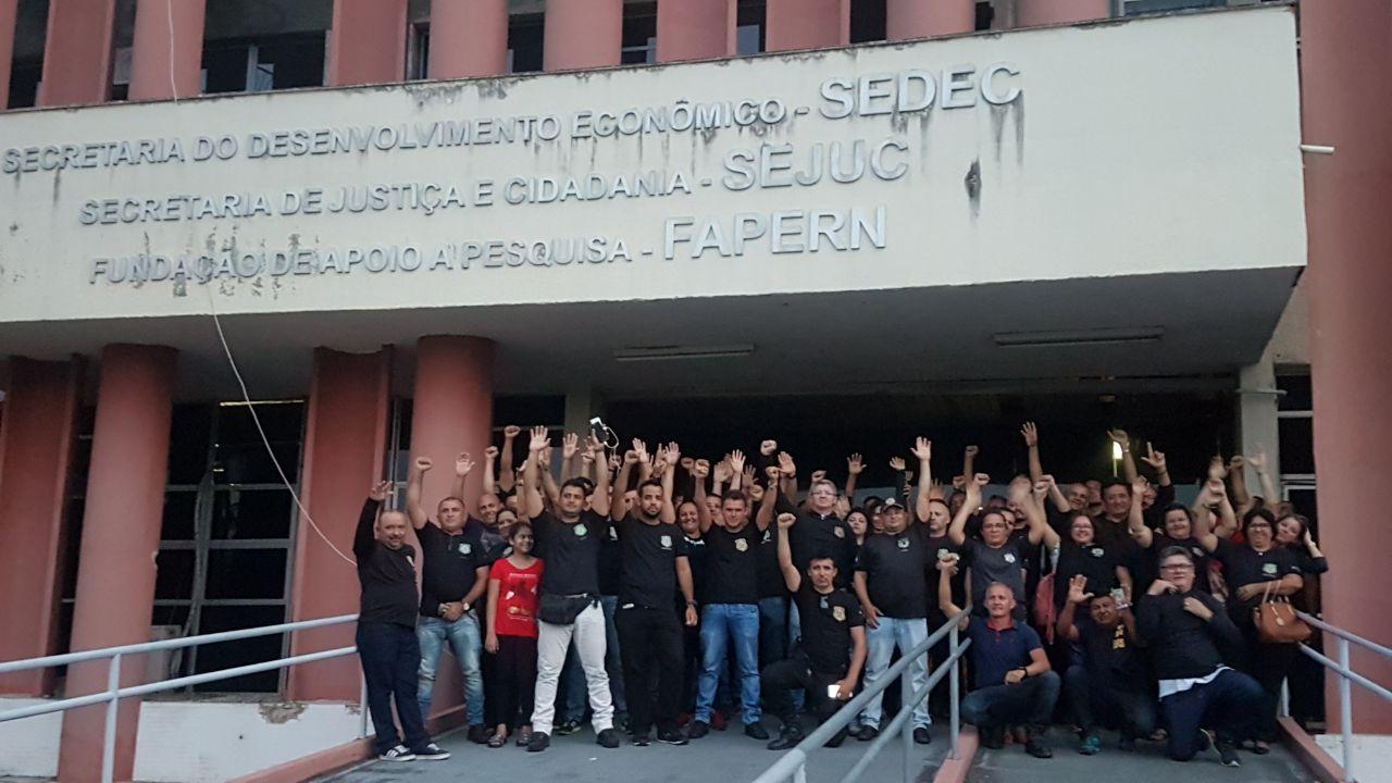 Agentes Penitenciários do RN paralisam atividades nesta terça-feira (23)