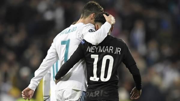 CR7 diz estar preocupado com o futuro de Neymar