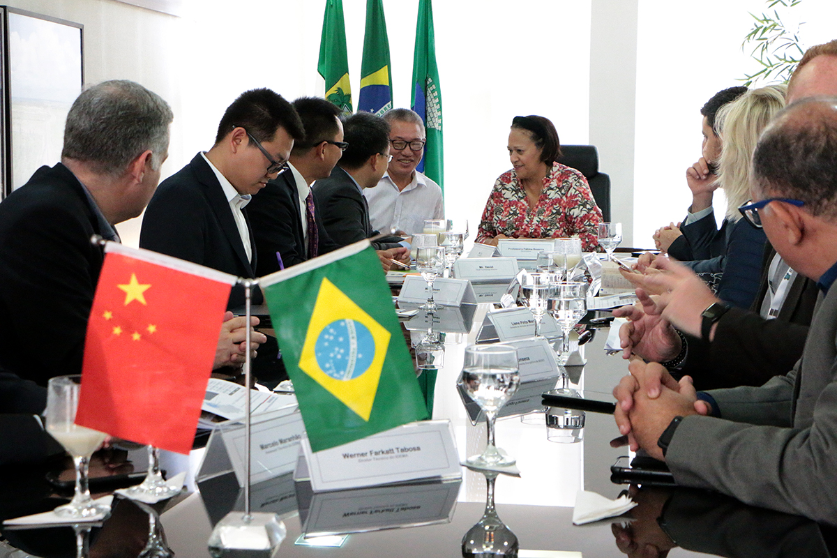 Empresa chinesa de energia deve investir R$ 2 bilhões no RN
