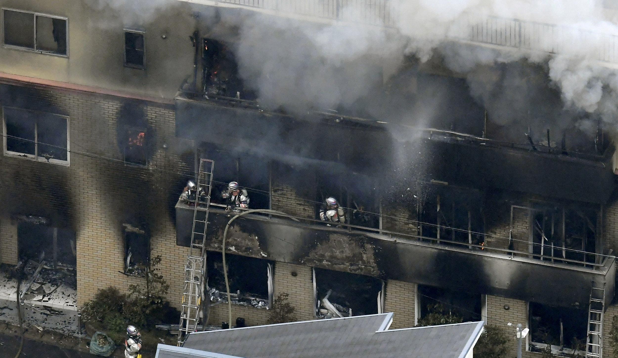 Incêndio em estúdio de animação mata ao menos 23 no Japão