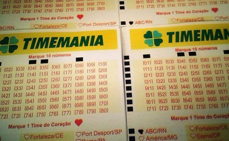 Resultado da Timemania concurso 1628: prêmio de R$ 1,2 milhão