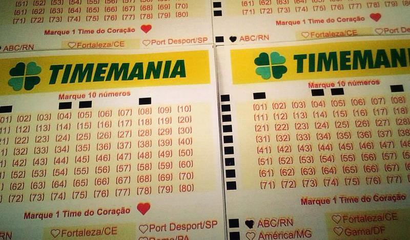 Resultado da Timemania concurso 1633: prêmio de R$ 1,9 milhão