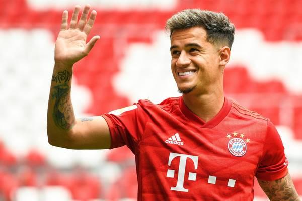 Bayern de Munique anuncia contratação do brasileiro Philippe Coutinho