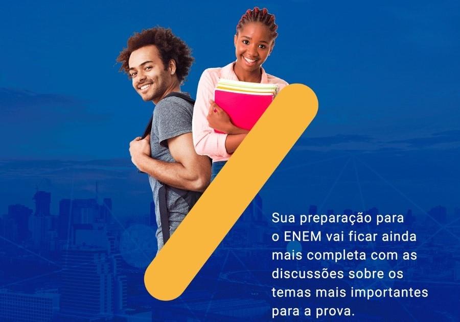 Conexão Enem inicia aulões gratuitos no próximo domingo (11)