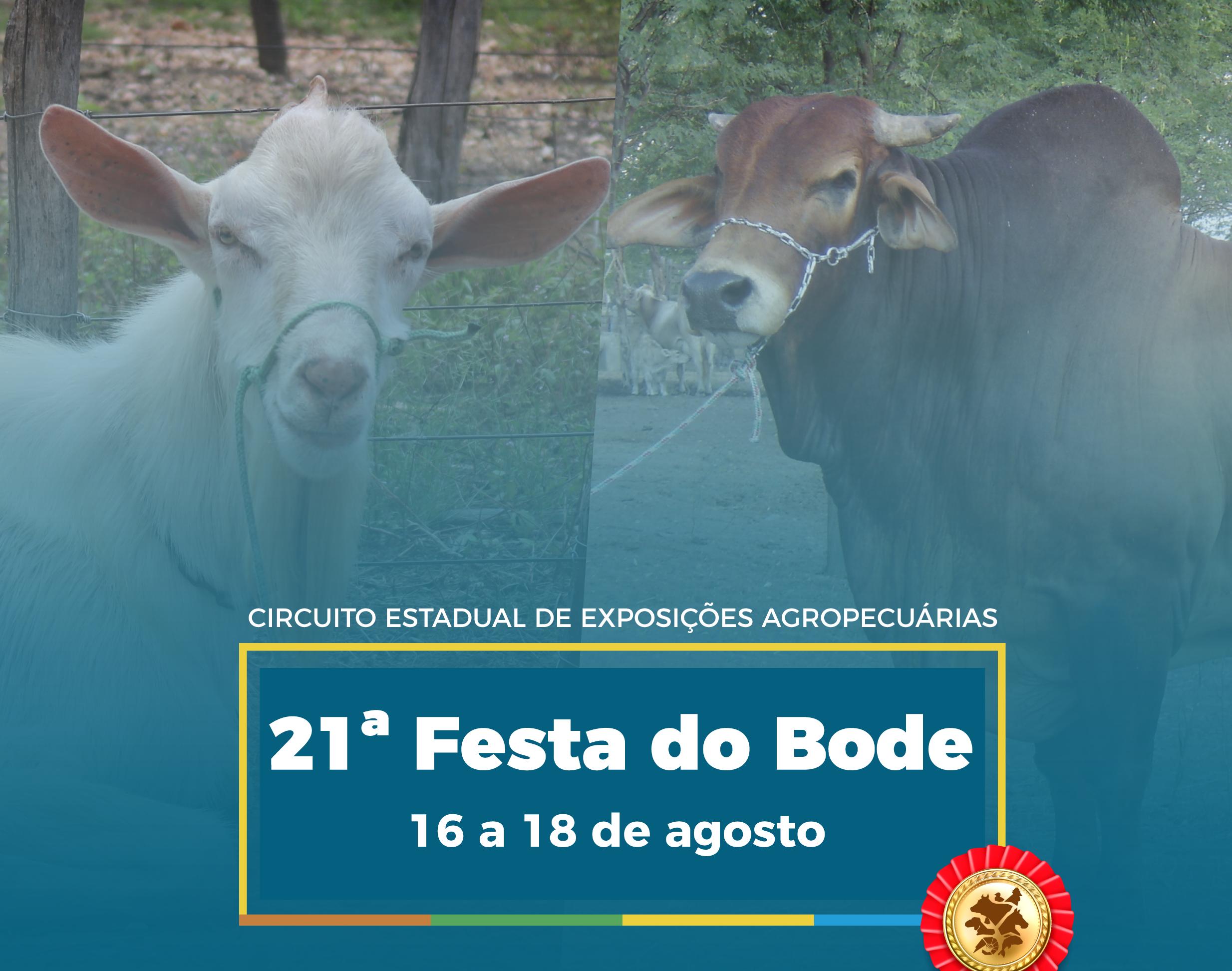 Emparn leva conhecimento e animais para 21ª Festa do Bode
