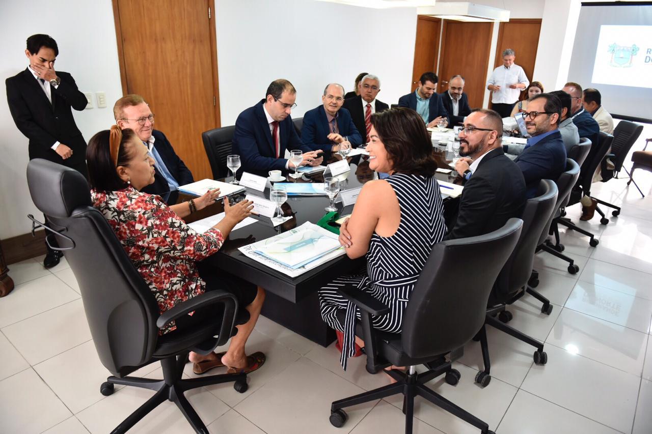 Governadora trata da implantação de novos parques eólicos no RN