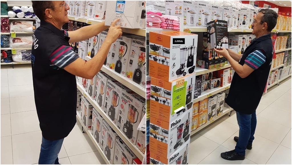 Operação Cozinha Segura: IPEM fiscaliza mais de 2 mil itens em lojas do RN