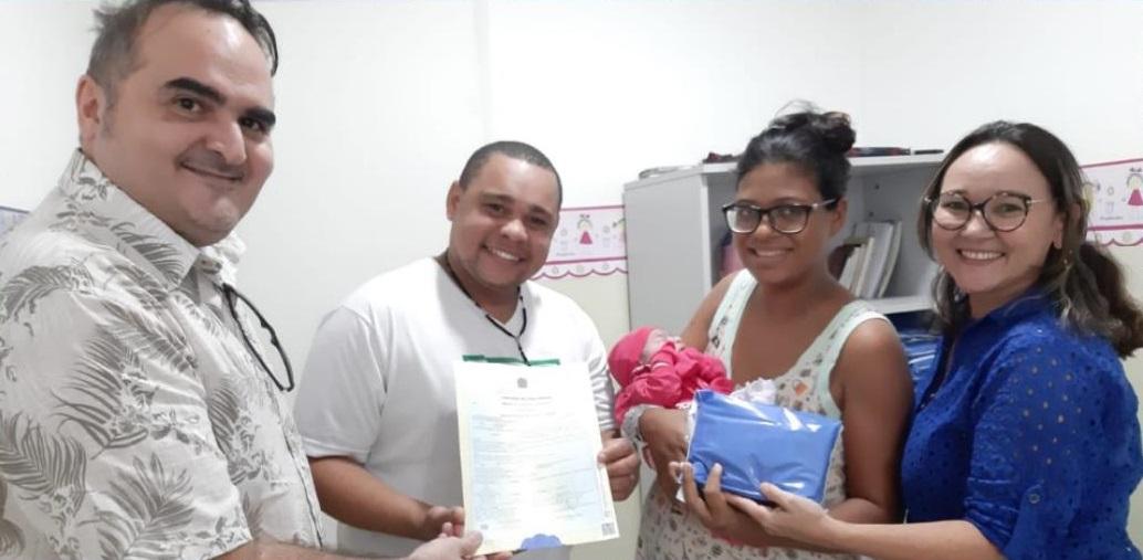 Maternidade Leide Morais passa a conceder Certidão de Nascimento para bebês nascidos no local