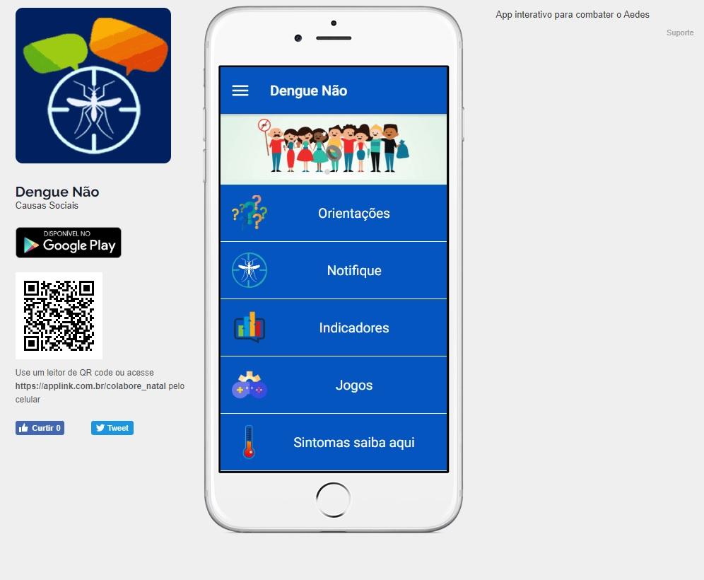SMS lança aplicativo contra a dengue em Natal