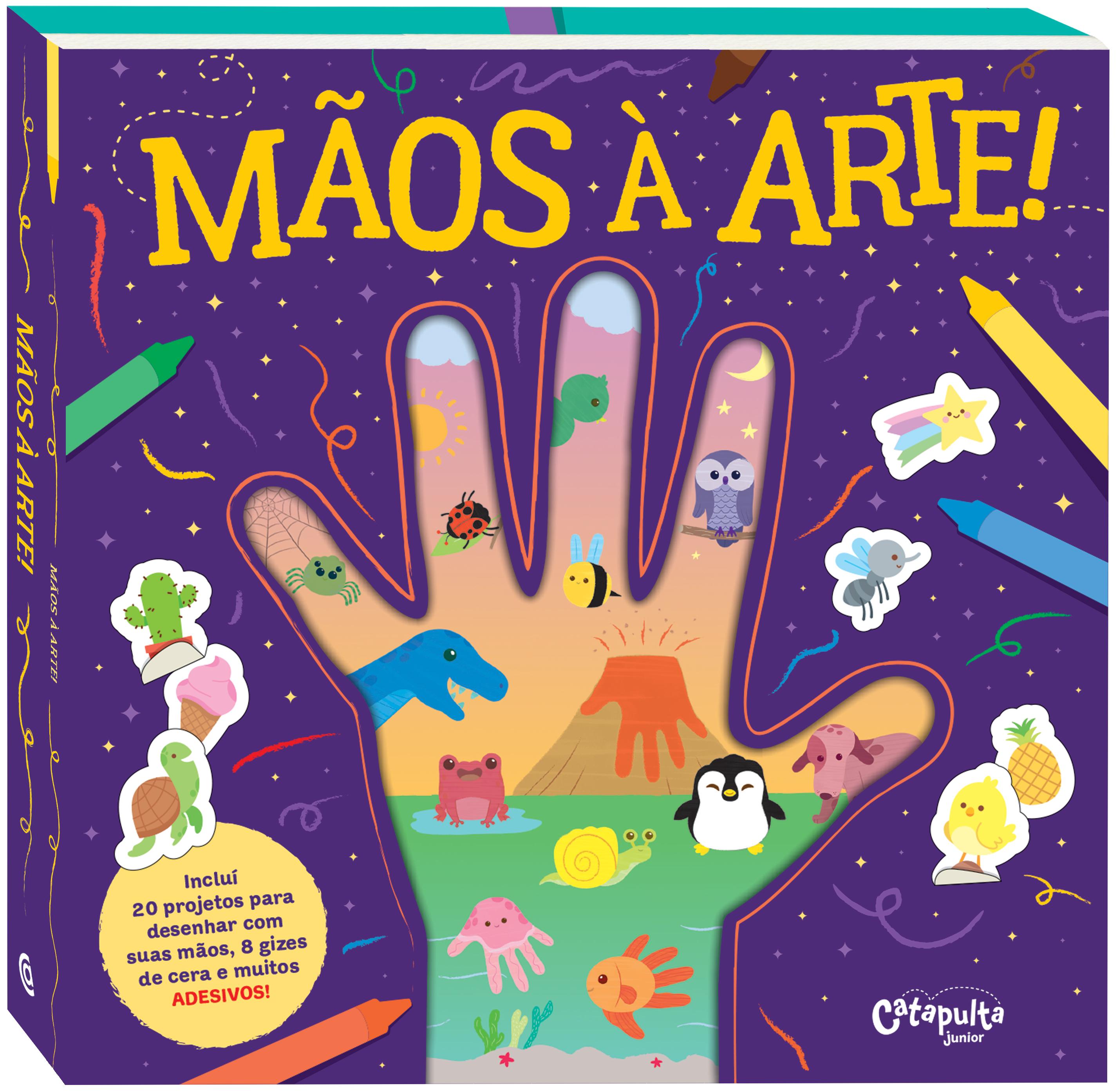 Catapulta lança 3 novos livros infantis para brincar com arte