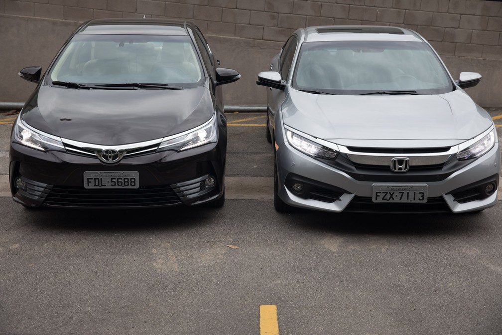 Honda Civic ou Toyota Corolla: qual desvaloriza mais?