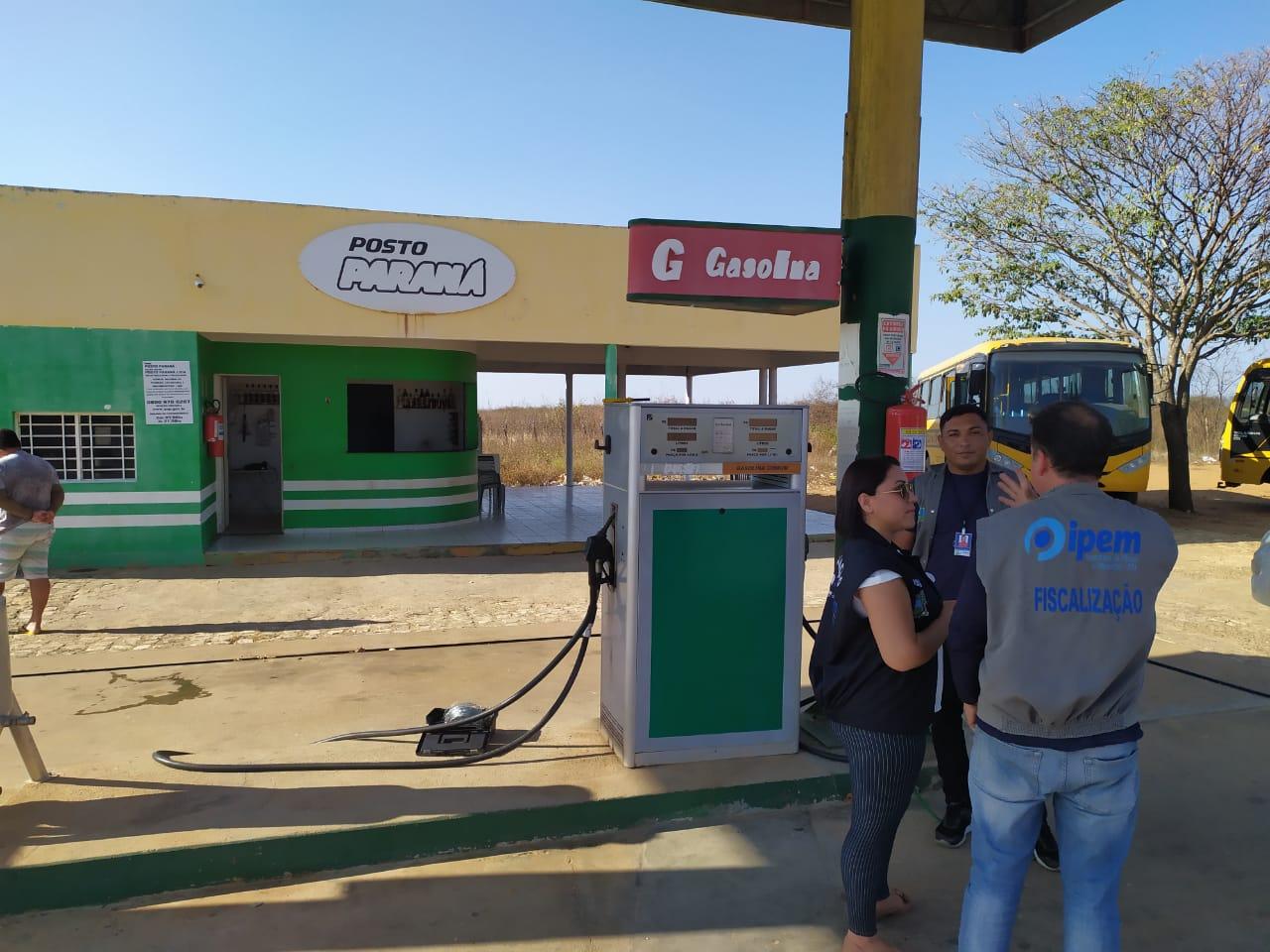 Ipem interdita bombas de combustíveis na Região Oeste e Vale do Assu