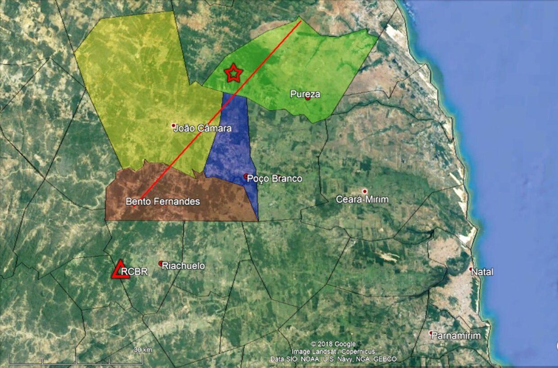 Laboratório da UFRN registra cinco tremores de terra em João Câmara