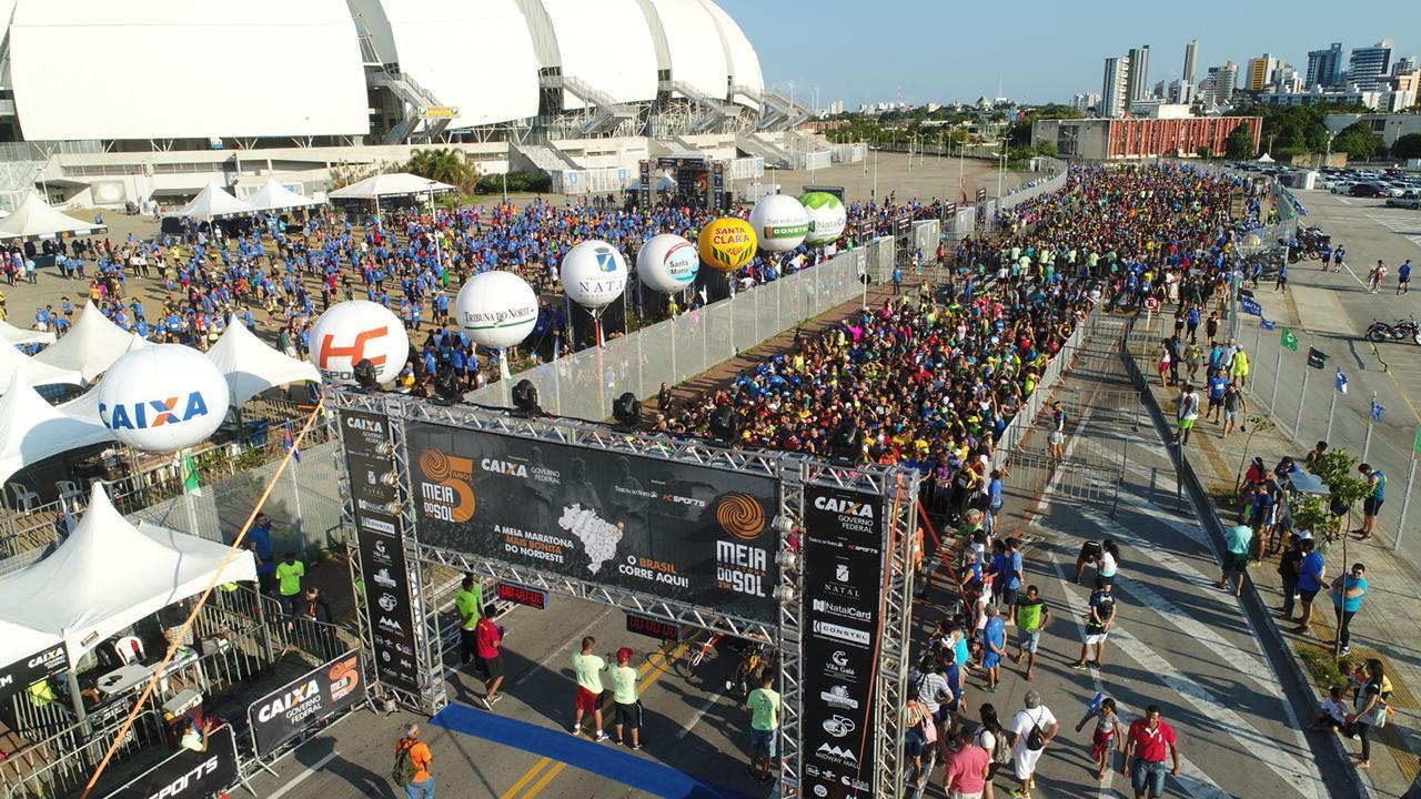 Meia Maratona do Sol alcança marca de 7 mil atletas e encerra inscrições