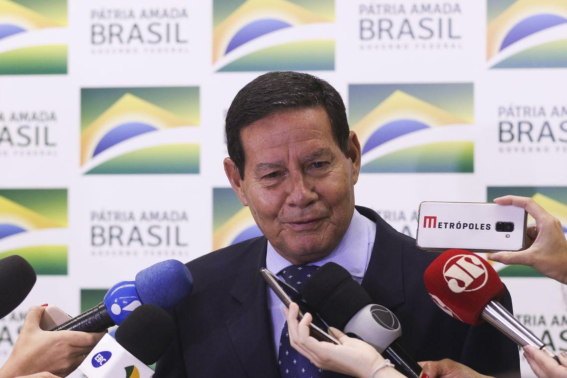 Mourão se reúne em Natal com empresários brasileiros e alemães