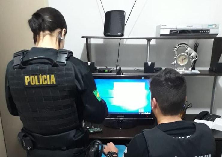 Polícia Federal cumpre mandados no RN para combater pornografia infantil