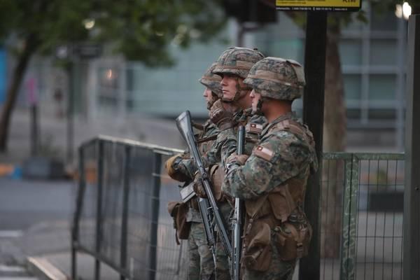 'Estamos em guerra', diz presidente do Chile sobre protestos