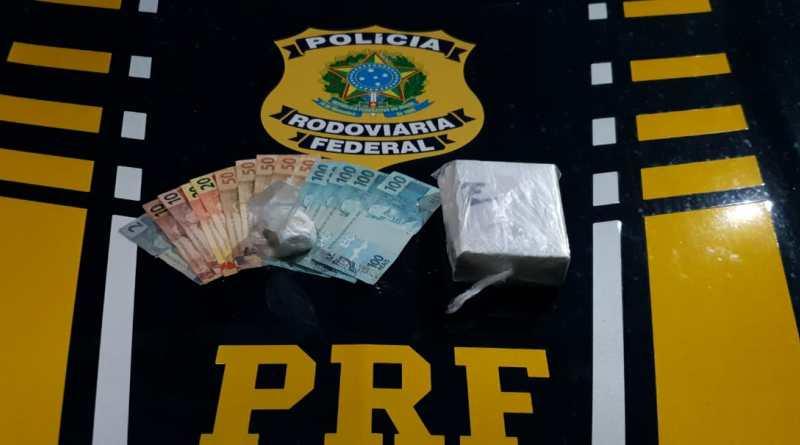 Homem que transportava cocaína em veículo da Secretaria de Habitação de Pernambuco é preso em São José de Mipibu