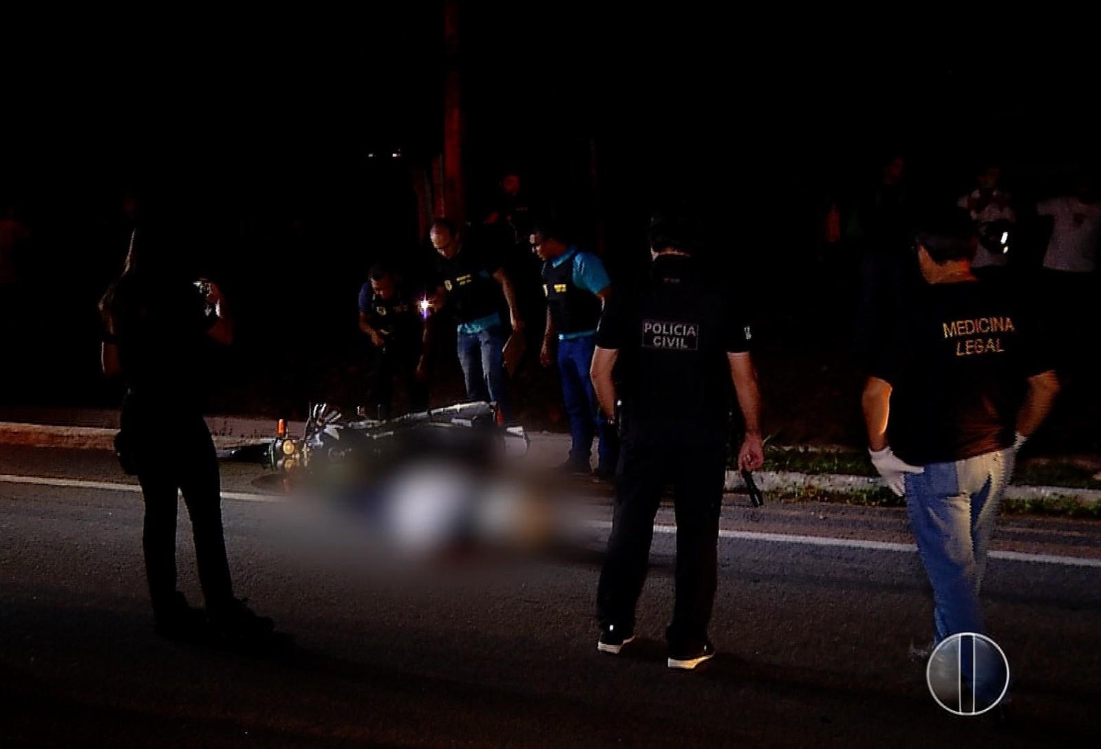 Homem reage a assalto e é morto na frente da filha em Natal