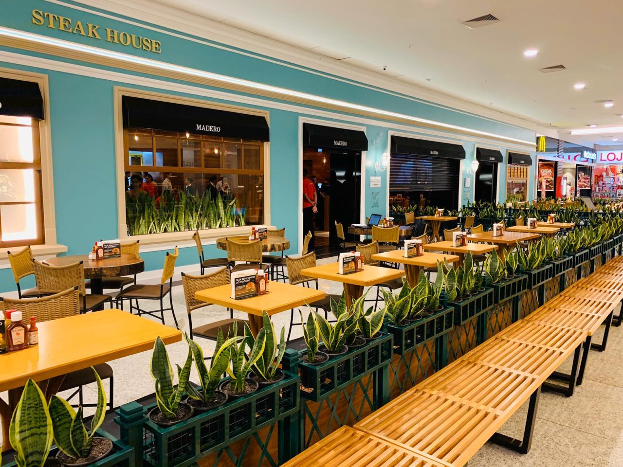 Restaurante Madero será inaugurado no Natal Shopping