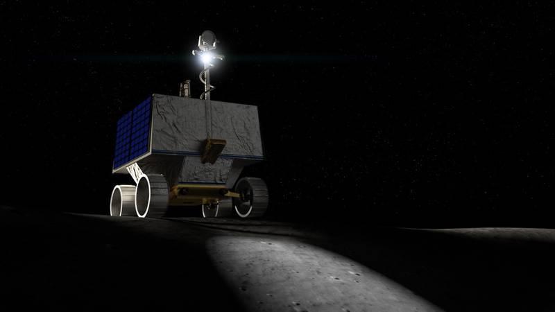 NASA apresenta um novo veículo espacial que buscará água na Lua em 2022