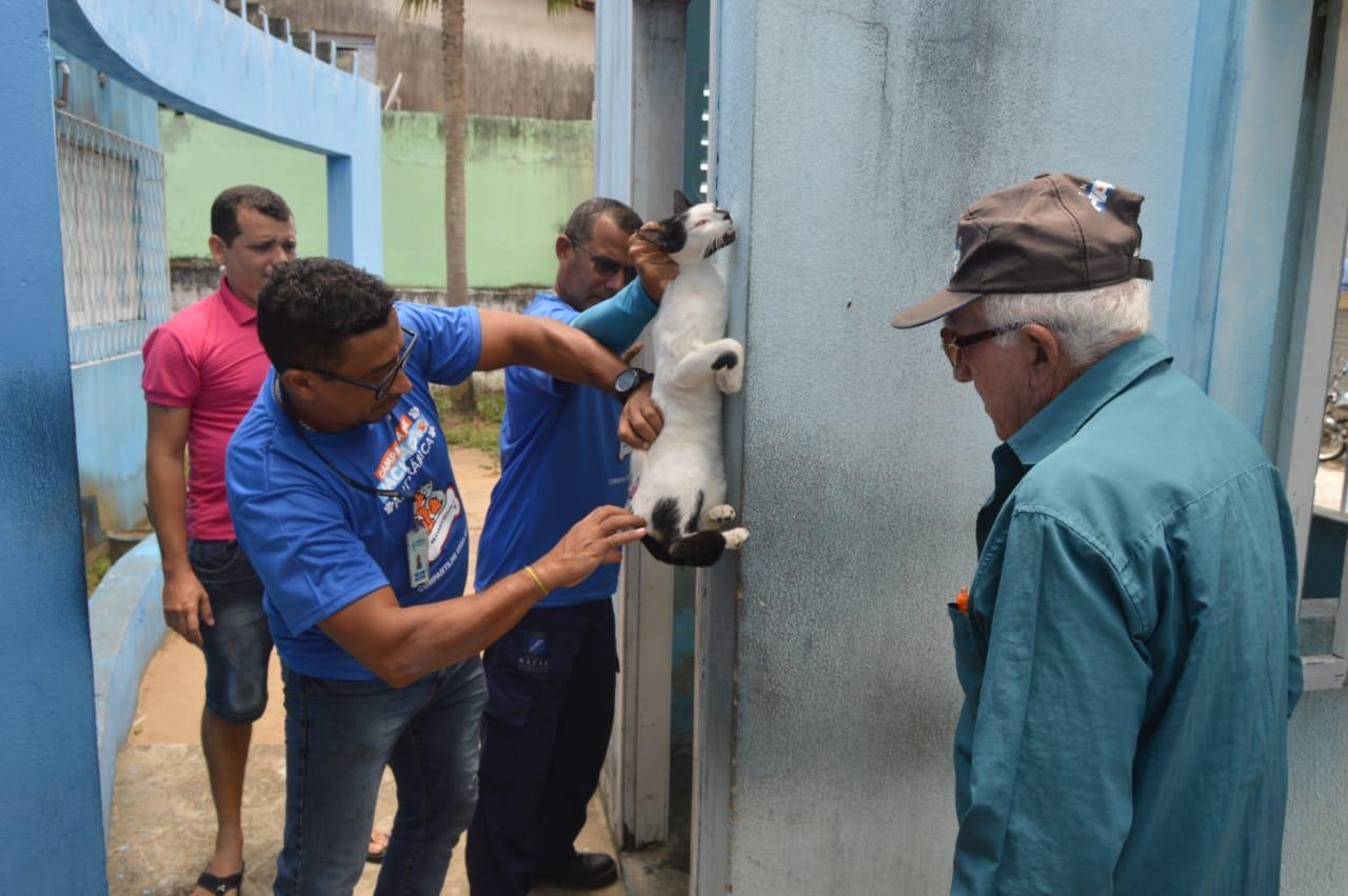 Novos locais de vacinação antirrábica em Natal