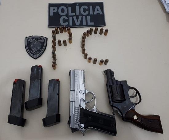 """Polícia Civil do RN deflagra Operação """"Seu Lunga"""" e prende pai e filho"""
