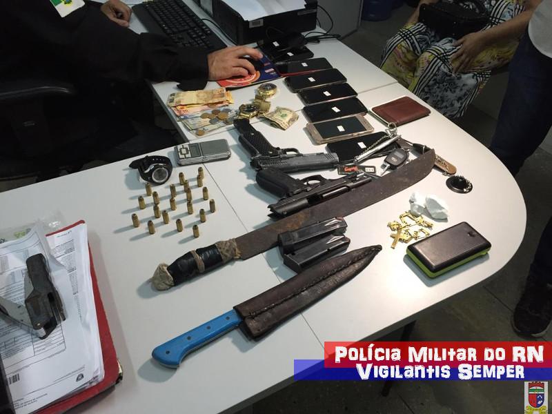 BPChoque prende nove pessoas durante patrulhamento em Natal