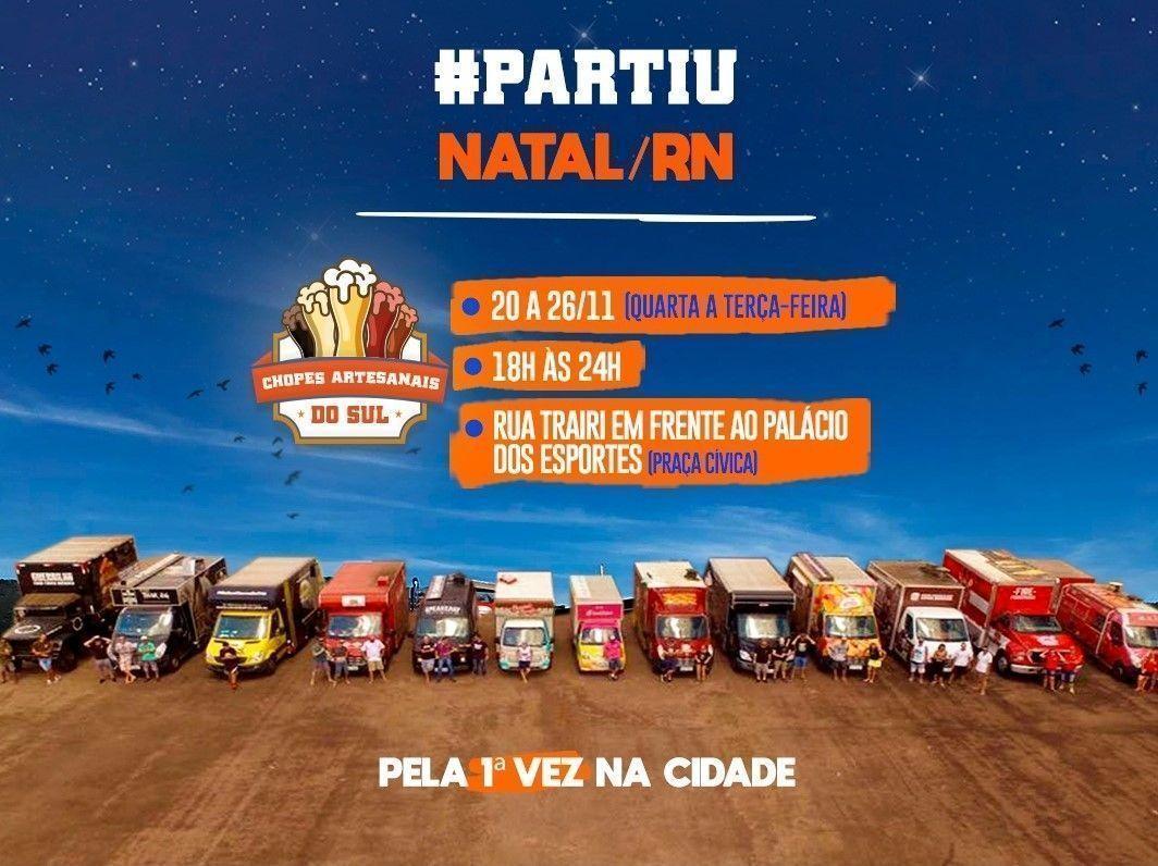 Festival Food Truck na Estrada chega a Natal