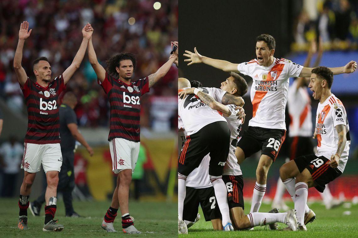 Flamengo e River protagonizam final inédita na Libertadores