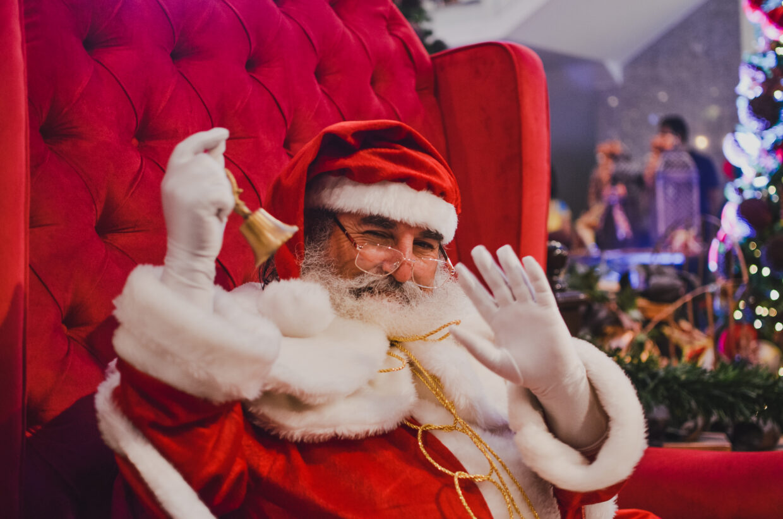 Papai Noel chega ao Natal Shopping no próximo sábado