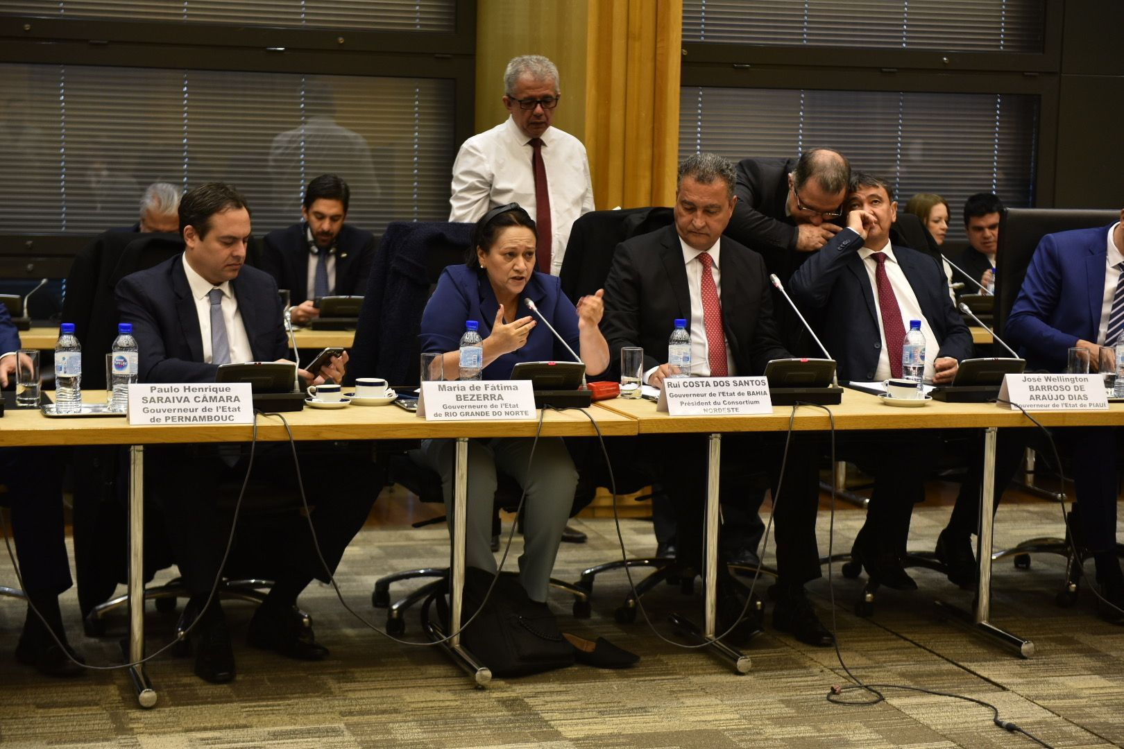 Governadora destaca potencialidades do RN a grupo de 40 empresários franceses