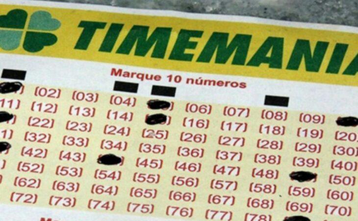 Confira o resultado da Timemania concurso 1647; sorteio de hoje (08/06)