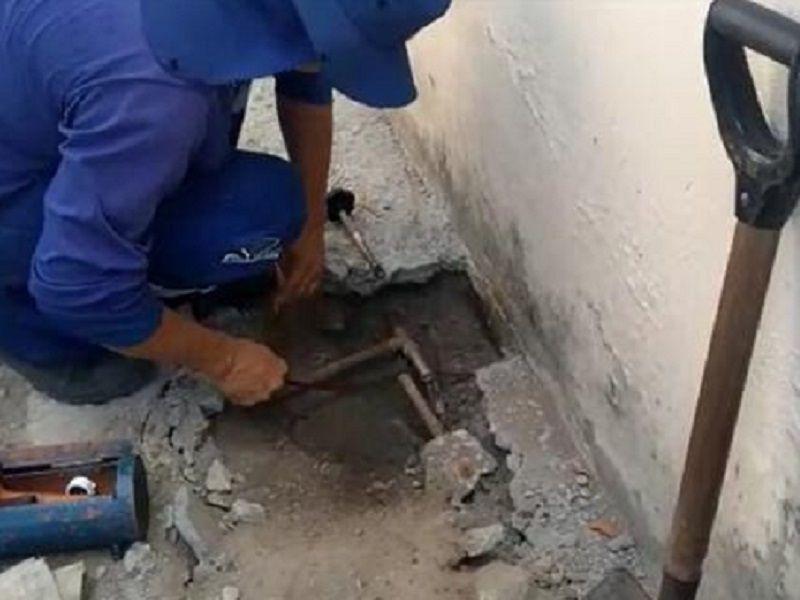 Caern detecta desvio de água em condomínio da Zona Sul e aplica multa de R$ 97 mil