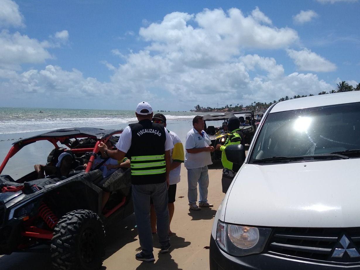 Detran inicia fiscalização nas praias urbanas do RN