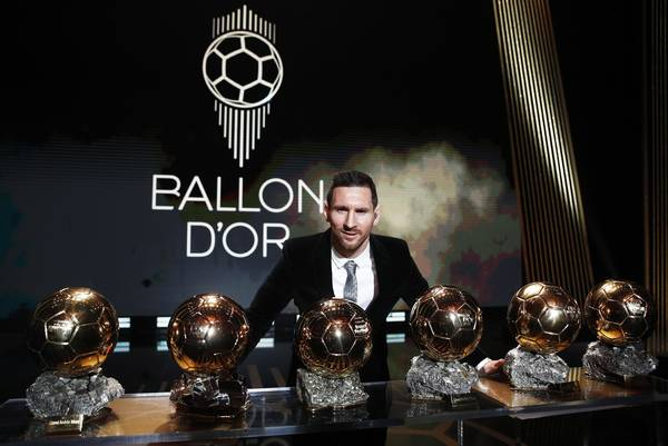 Messi fatura prêmio de melhor do mundo pela 6ª vez