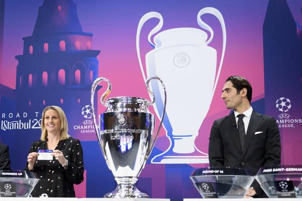 Oitavas da Champions terão Juventus x Lyon e Napoli x Barça
