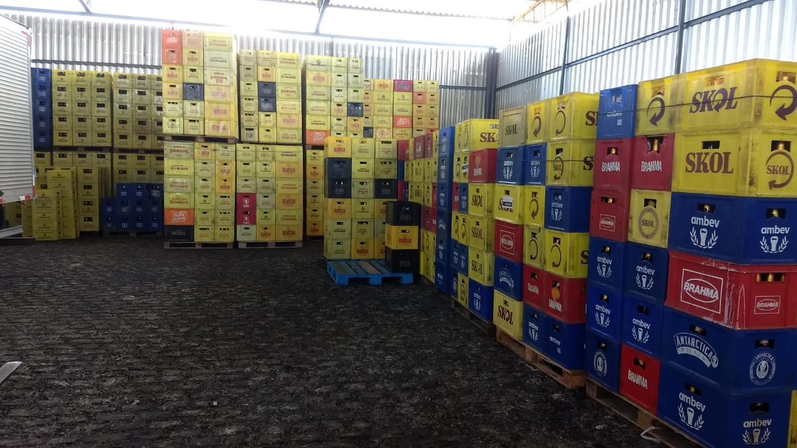 Polícia civil apreende 40 mil litros de cerveja em São José de Mipibu