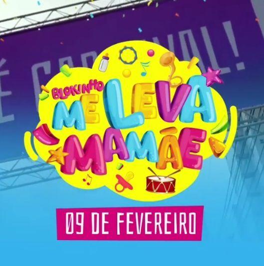 """Pré-vendas do bloquinho infantil """"Me Leva Mamãe"""""""