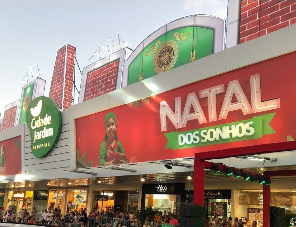 Programação de fim de ano do Shopping Cidade Jardim