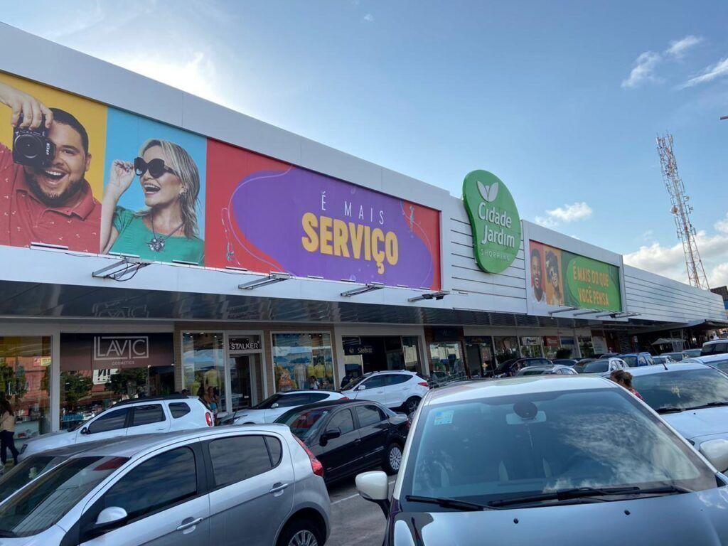 Baby Shark anima as crianças no shopping Cidade Jardim