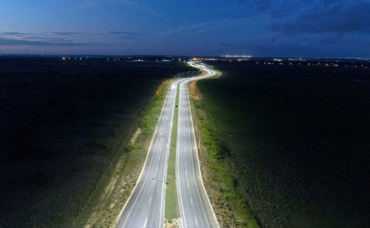 Governo inaugura iluminação do acesso sul ao Aeroporto de Natal