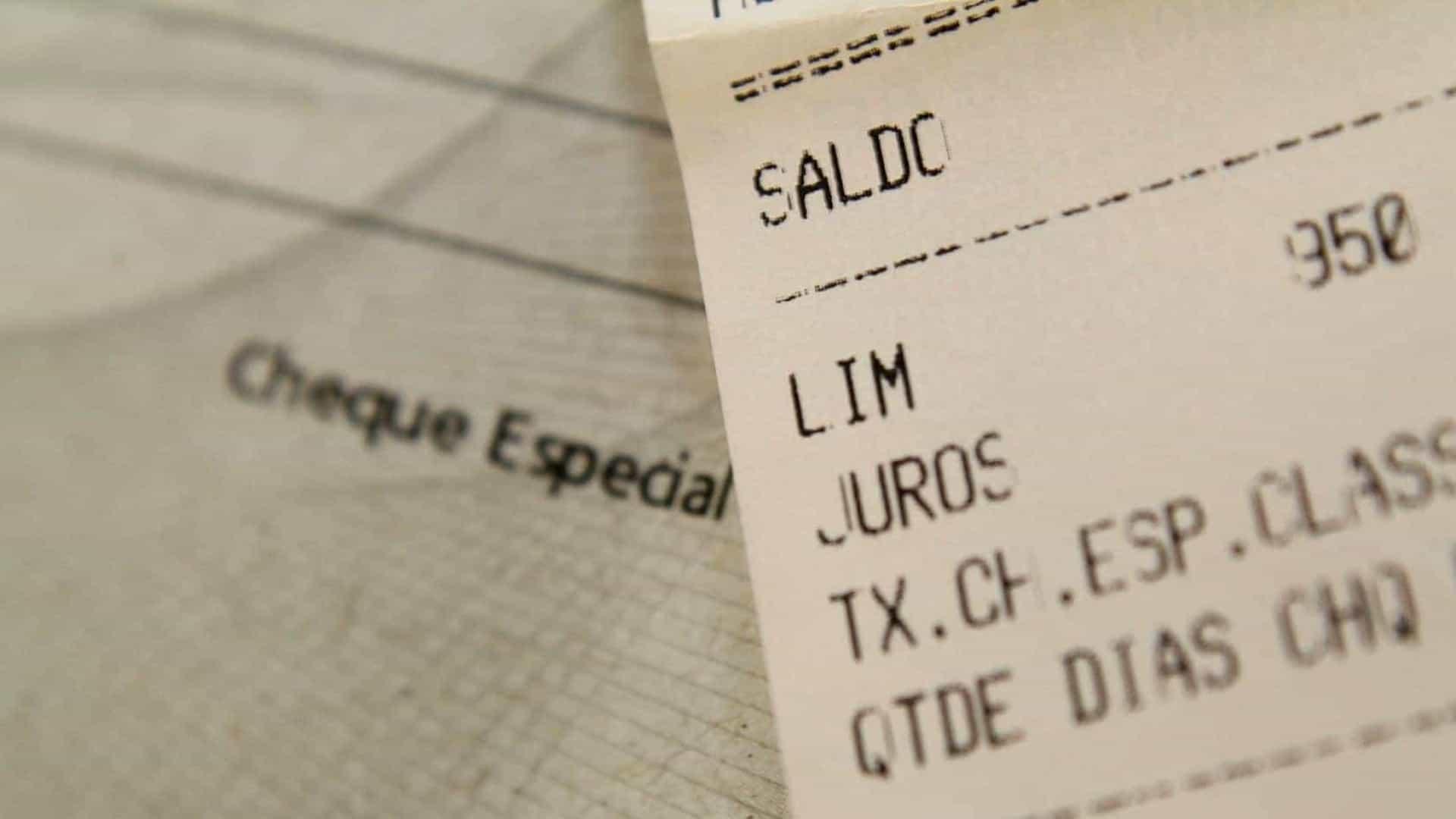 Limite de juros para cheque especial começa a valer a partir de hoje