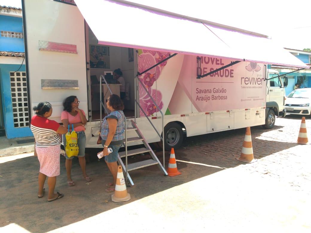 Mamografias gratuitas na Policlínica da Zona Norte