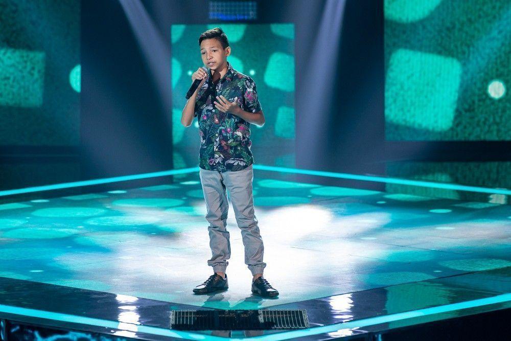 Potiguar Benício Abraão é destaque no The Voice Kids cantando O Caderno de Toquinho