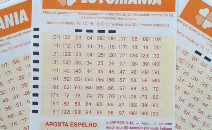 Resultado da Lotomania concurso 2178: prêmio de R$ 1,6 milhão